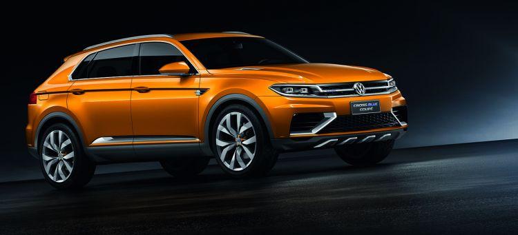 Volkswagen SUV-Studie CrossBlue CoupÈ