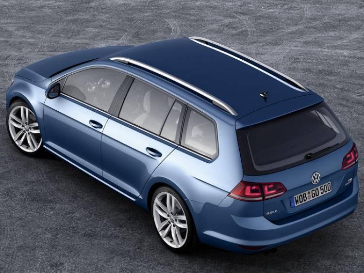 Volkswagen Golf Variant: primeras imágenes de la versión familiar