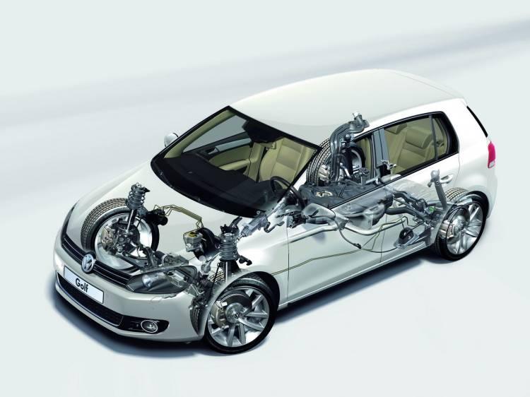 Volkswagen Golf VI - Técnica 7
