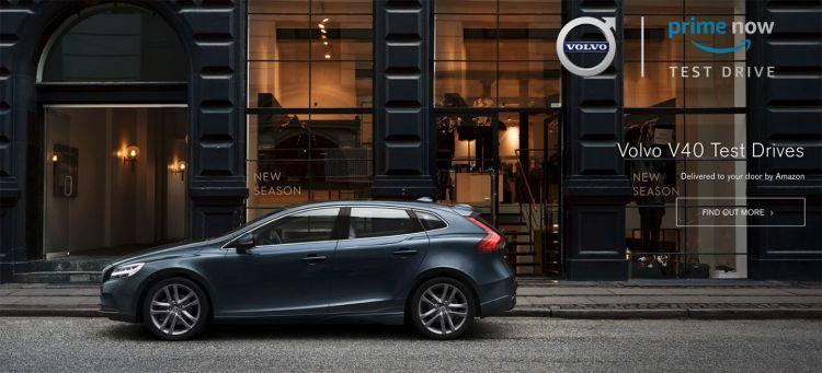 Volvo Amazon Prime Now Test Drive Uk