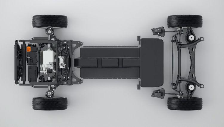 Volvo Arquitectura Coche Electrico Hibrido Enchufable