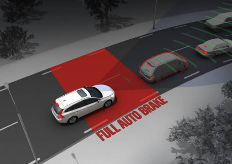 Accidente Volvo V60