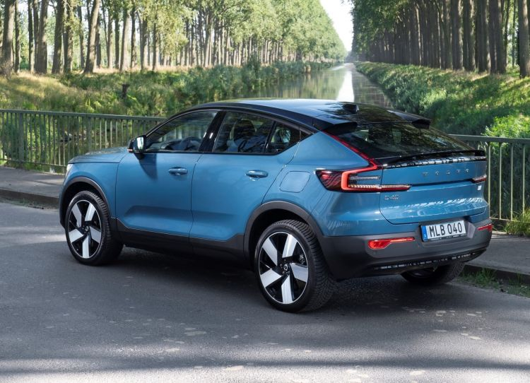 Volvo C40 Recharge, Fjord Blue