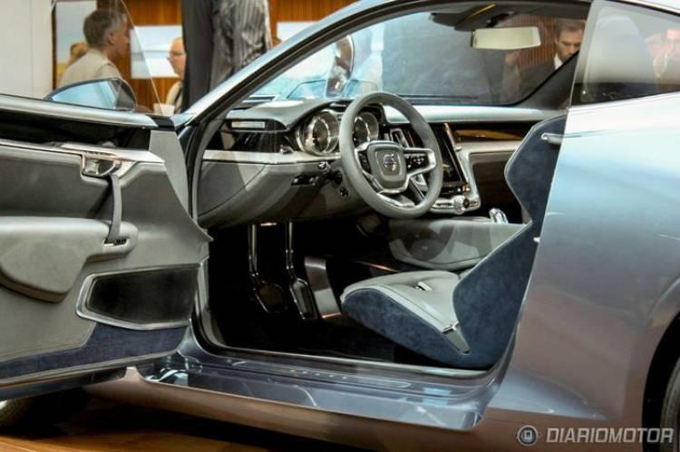 Volvo Concept Coupé, así es la elegancia sueca en vivo desde Frankfurt