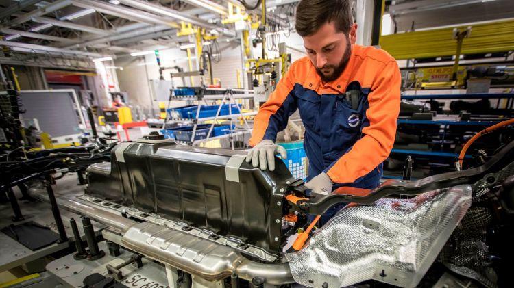 Volvo Pack Baterias Hibrido Enchufable