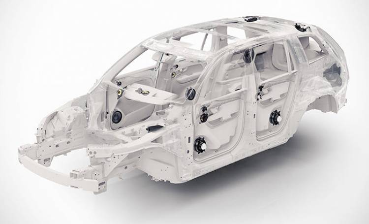 Volvo XC90 Scalable Product Architecture