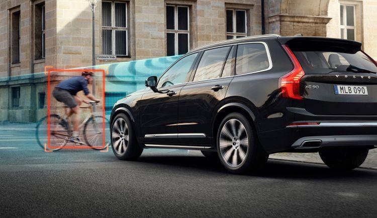 Volvo Seguridad Coche Conectado Ciclistas