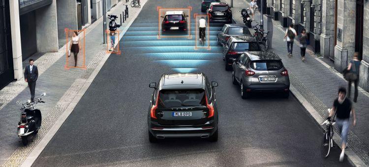 Volvo Seguridad Coche Conectado Ciudad