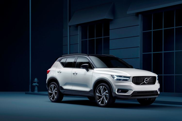 Volvo Xc40 Oferta 2021 Blanco Frontal