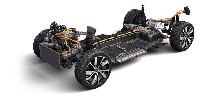Volvo Xc40 Recharge P8 Electrico Plataforma