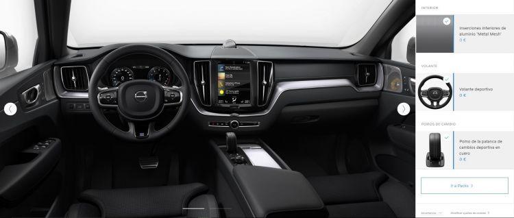 Volvo Xc60 Interior Configurador