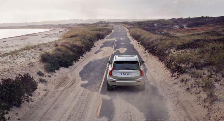 Volvo Xc90 2019 Gris Carretera