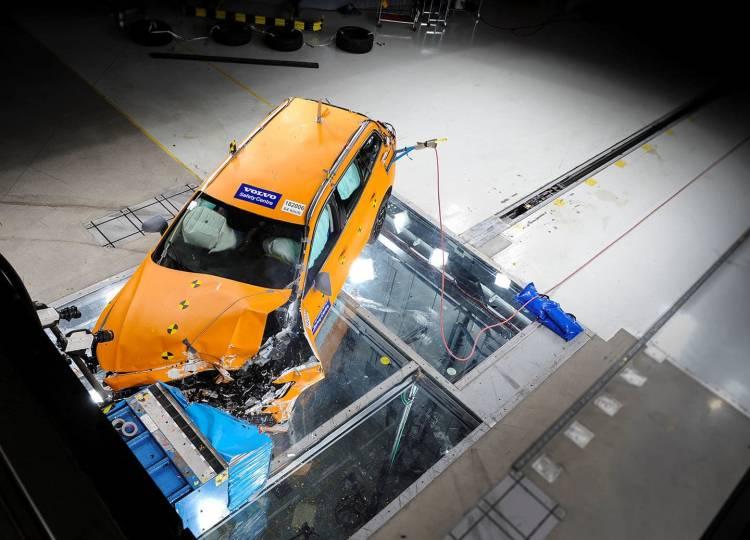 Volvo V60 Crashtest