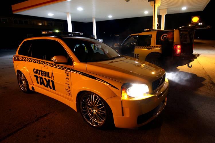 Volvo XC90 Gatebil Taxi
