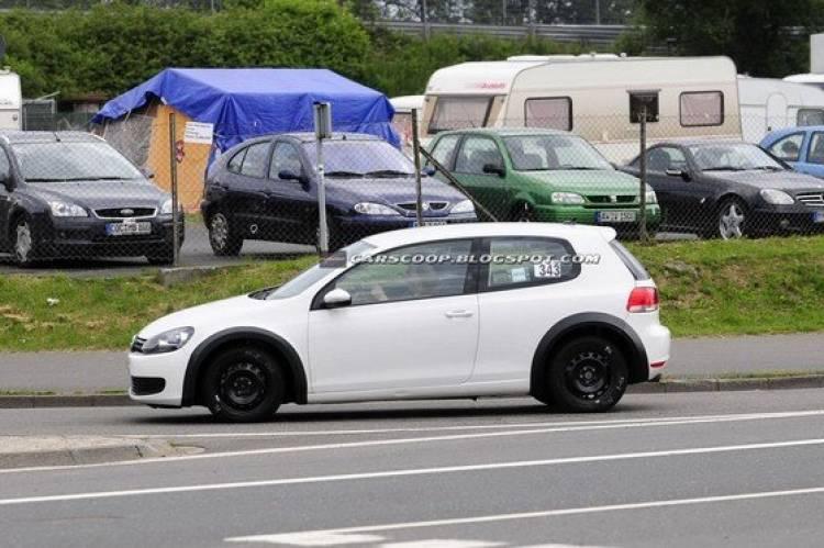 Ya ruedan las mulas de la séptima generación del Volkswagen Golf