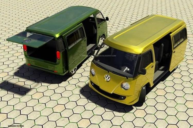Recreación Volkswagen Transporter 2015