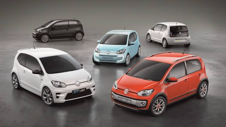 Small Family Volkswagen Up!