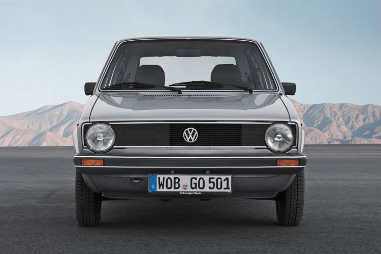 Vw Golf Gen1 1974 Front