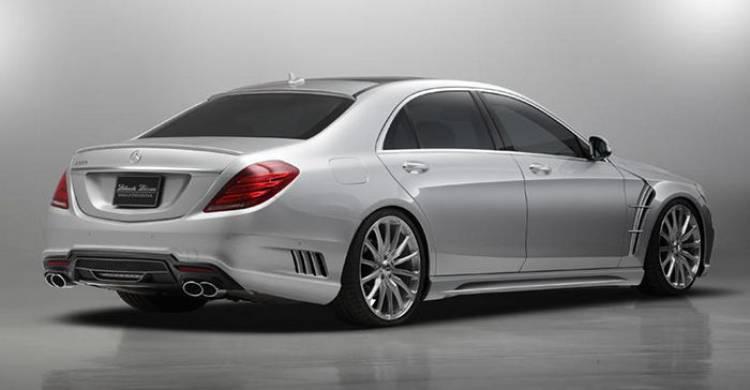Un nuevo kitt de carrocería para el nuevo Mercedes Clase S por Wald International
