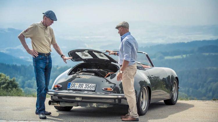 Walter Rohrl Porsche 356 Dm 4
