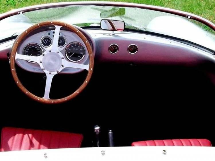 Wittera Retro-Ma.de Spyder, inspirado en el Porsche 550, con corazón bóxer Alfa Romeo