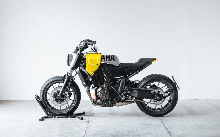 Yamaha Xsr700 Cafe Racer Tracker Dm 3
