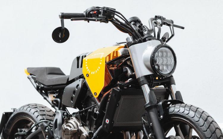 Yamaha Xsr700 Cafe Racer Tracker Dm 4