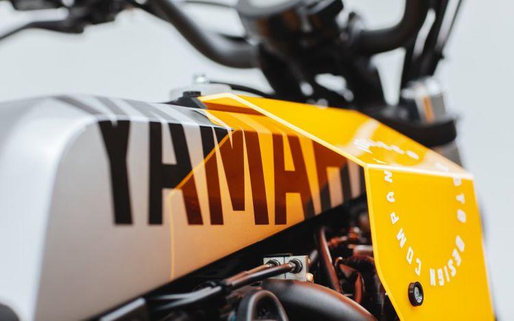 Yamaha Xsr700 Cafe Racer Tracker Dm 5