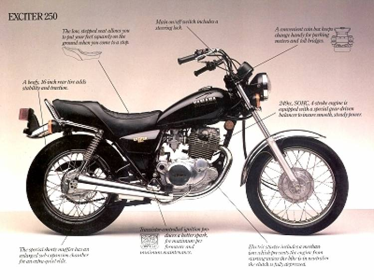 Yamaha SR 250, la reina de las motos ciudadanas - Diariomotor
