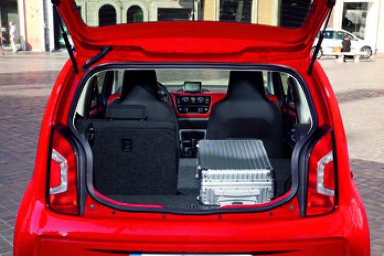 Volkswagen Up!, maletero