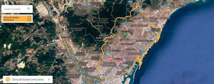 Zbe Barcelona Mapa