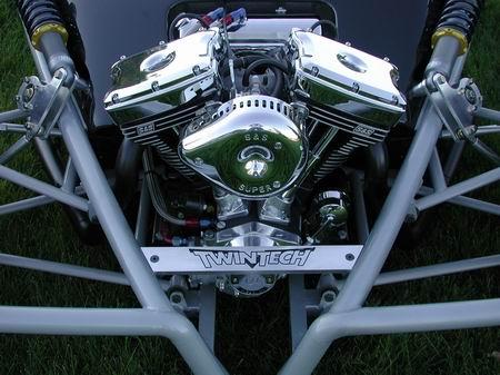 TwinTech, un potente kart de 125 Cv