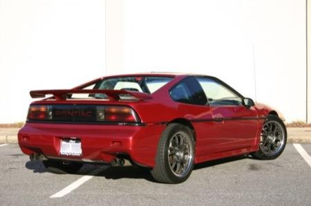 Pontiac Fiero de 1988