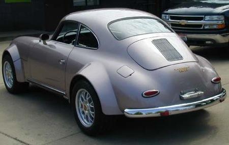 Porsche 356 con motor de Chevrolet