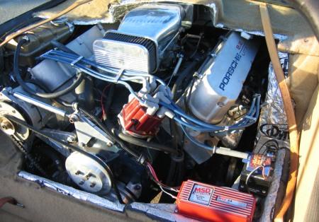Porsche 911 Targa con motor Cadillac V8