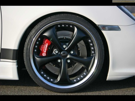 SpeedART BTR-XL 600, preparación del Porsche 911 Turbo Cabriolet
