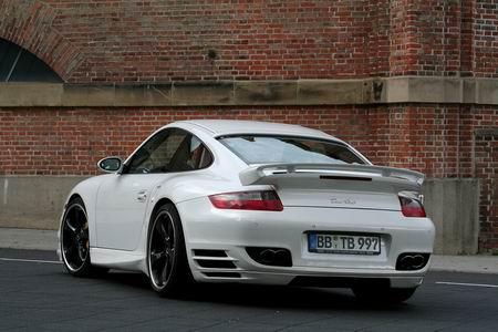 Porsche 911 Turbo modificado por TechArt