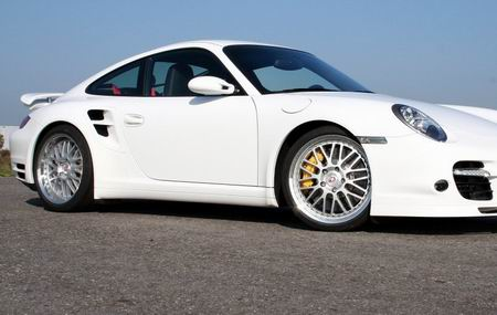 Porsche 997 Turbo por Cargraphic