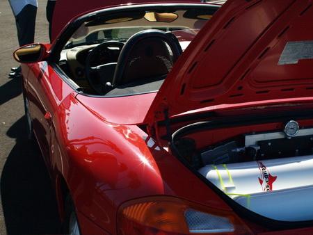 Porsche Boxster propulsado por aire comprimido
