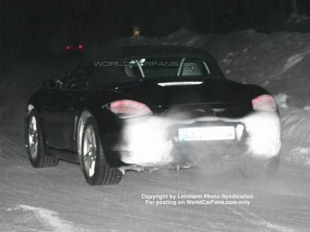 Fotos espía del Porsche Boxster 2008