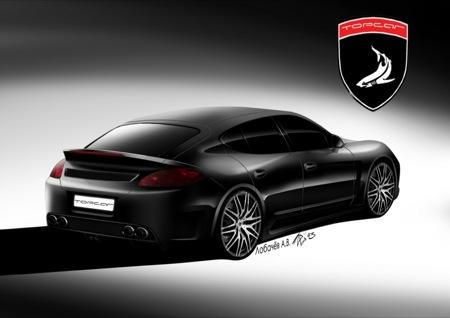 Porsche Panamera, preparado por 9ff, Top Car y Cardi