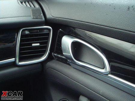 Porsche Panamera, espiado el interior