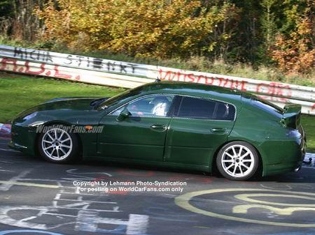 Más fotos espía del Porsche Panamera
