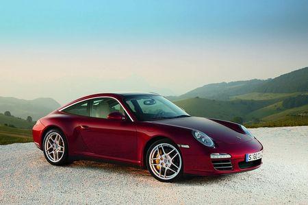 Porsche 911 Targa, imágenes oficiales