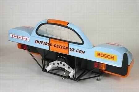 Porsche 917 sofá