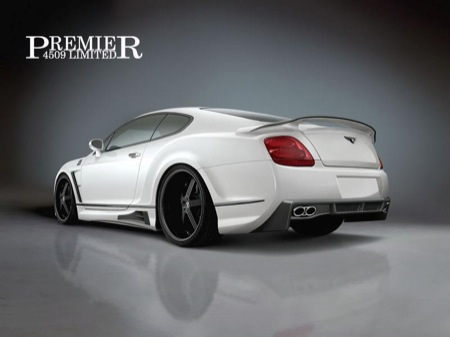 Nueva carrocería para el Bentley Continental GT por Premier4509