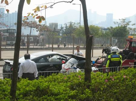 Primer accidente de un Nissan GT-R