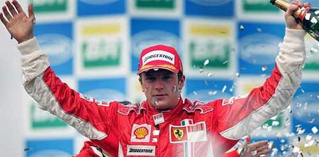 Kimi Räikkönen gana el mundial 2007
