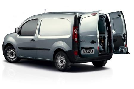Nueva Renault Kangoo Express 2007, vistazo completo