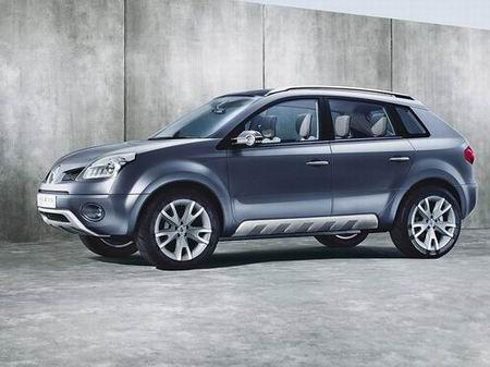 Renault Koleos Concept. La marca francesa Renault presenta